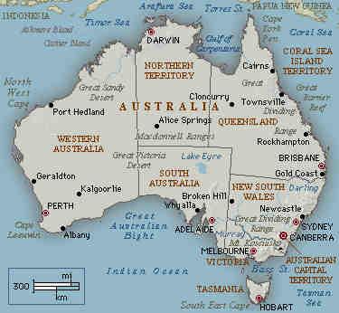 wichtige flüsse in australien