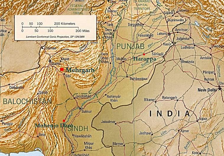 Essay On Mehrgarh Civilization Map - image 6