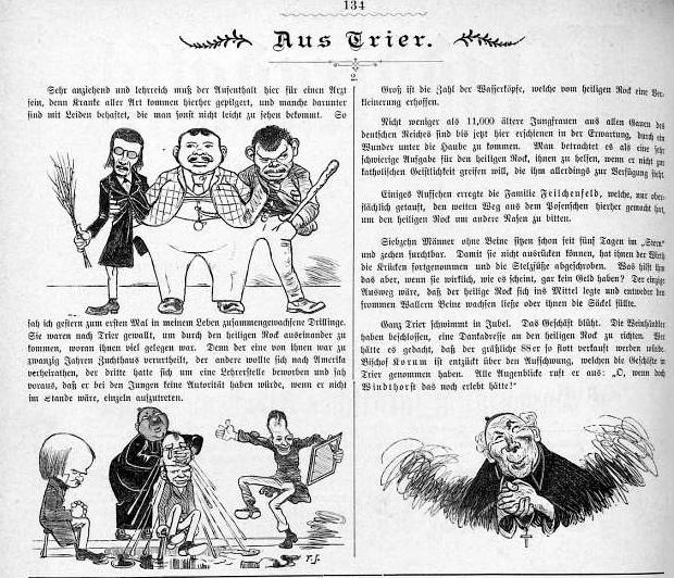 Kladderadatsch 1888 - 1899 (Antiklerikale Karikaturen und Satiren XIII)