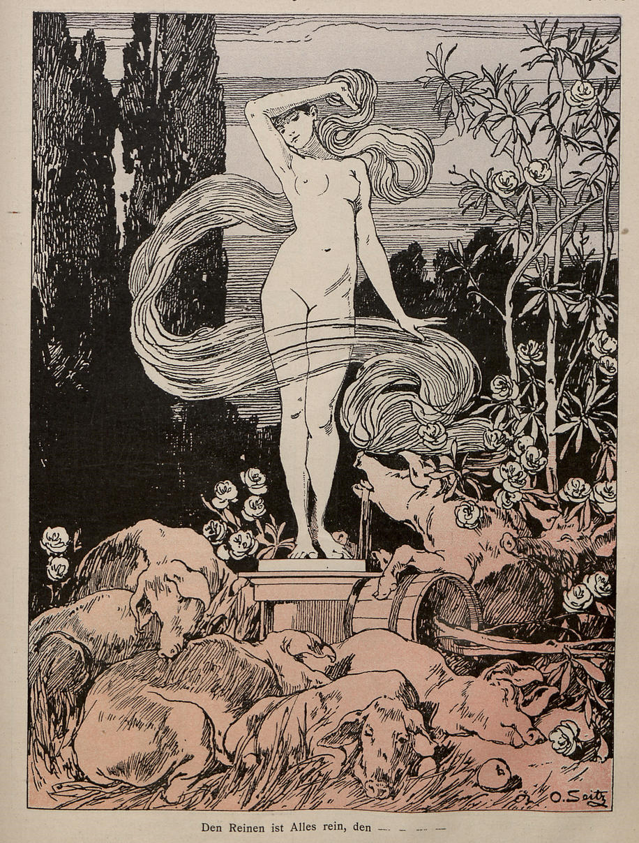 jugend 1896 1940 antklerikale karikaturen und satiren. Black Bedroom Furniture Sets. Home Design Ideas