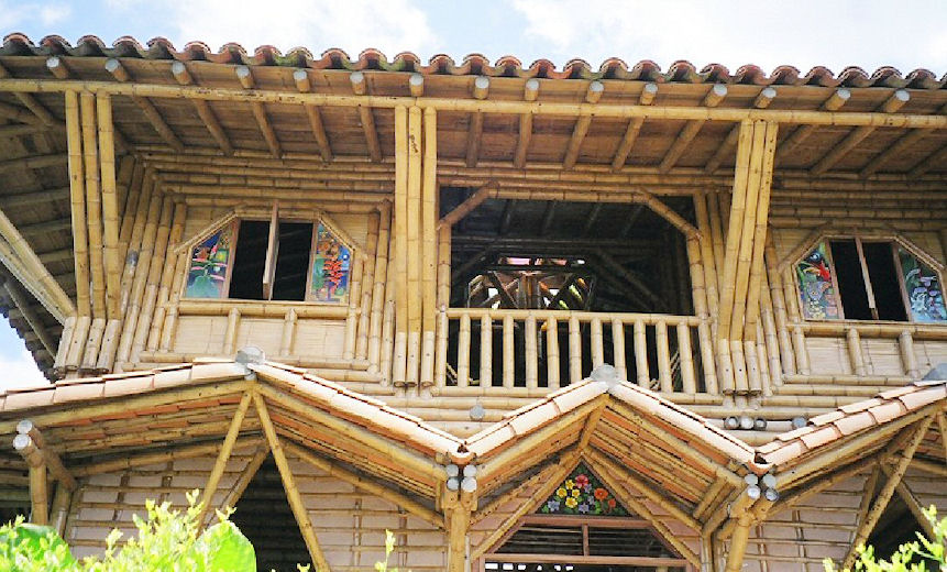 Bamboo House Philippines Modern