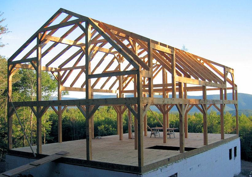 Holz als material holzbauweisen architektur f r die tropen - Skelettbau architektur ...