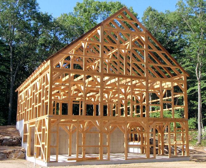 Holz als material holzbauweisen architektur f r die tropen for Holz fachwerkhaus