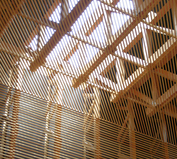 Holz als material geb ude f r religi se zwecke for Japanische architektur holz