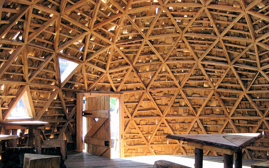 Holzskelettbau architektur  Holz als Material - Holzbauweisen (Architektur für die Tropen)