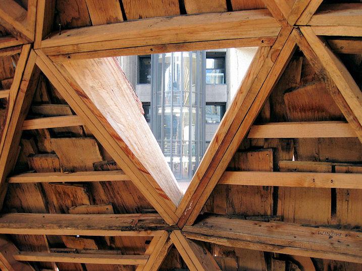 Geodätischen Kuppel holz als material holzbauweisen architektur für die tropen