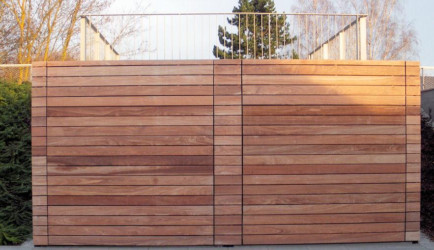 Garage modern holz  Holz als Material - Verschiedenes (Architektur für die Tropen)